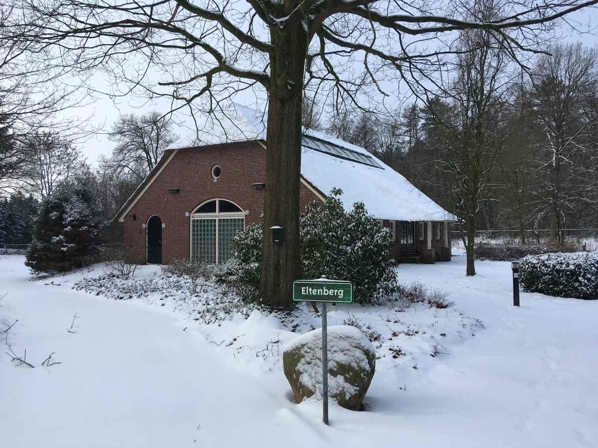 Brockhausen in de winter