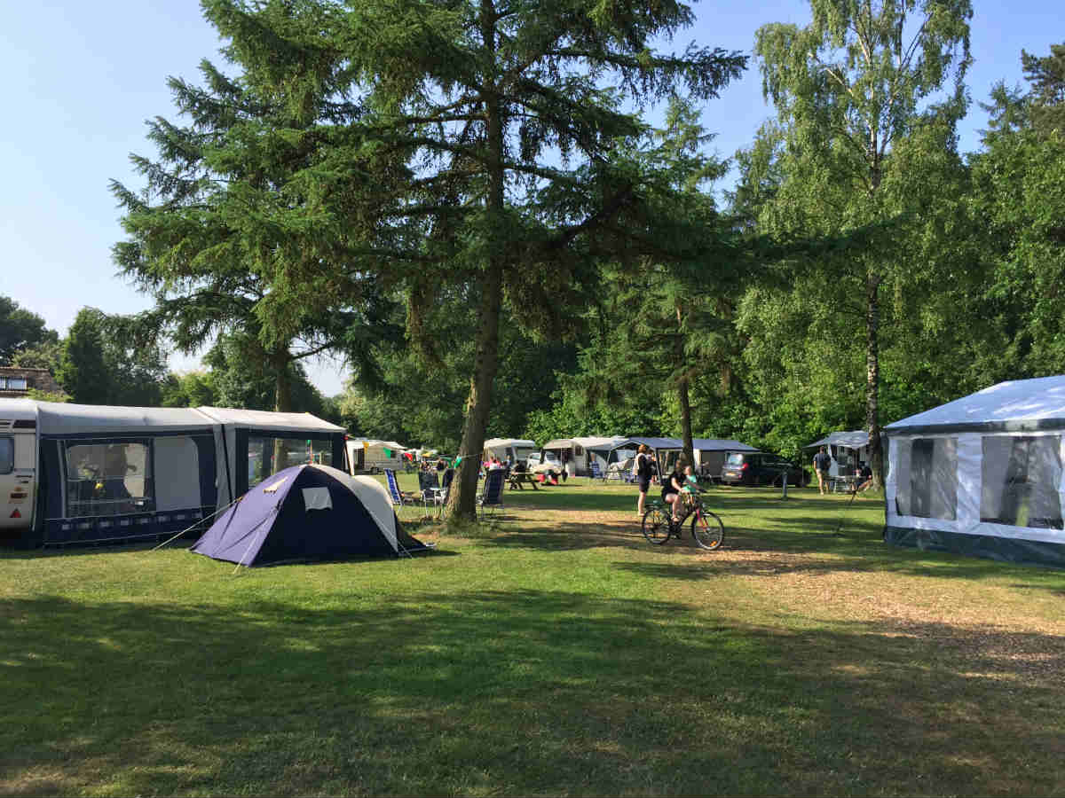 Camping Brockhausen ruime plekken