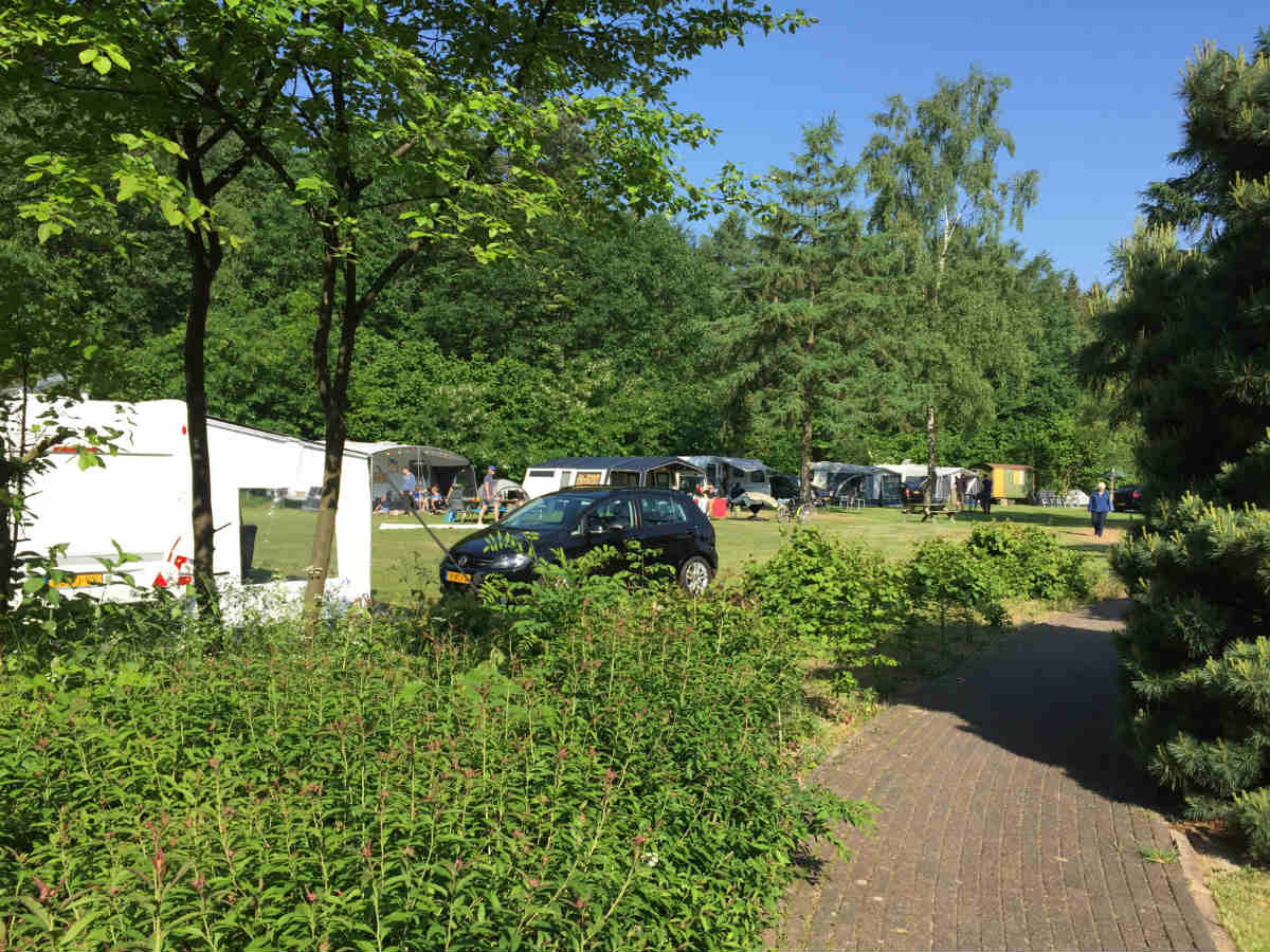 Camping Brockhausen sta-plekken