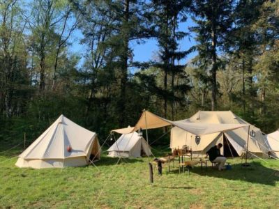 groepen larp scouting camping
