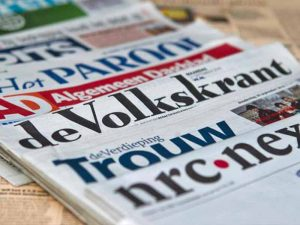 krant op camping brockhausen