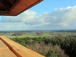 uitzicht uitkijktoren Hulzenberg